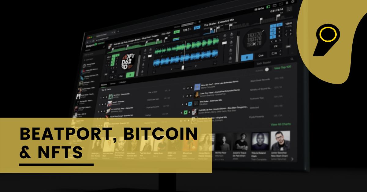 Beatport, Bitcoin & NFTs