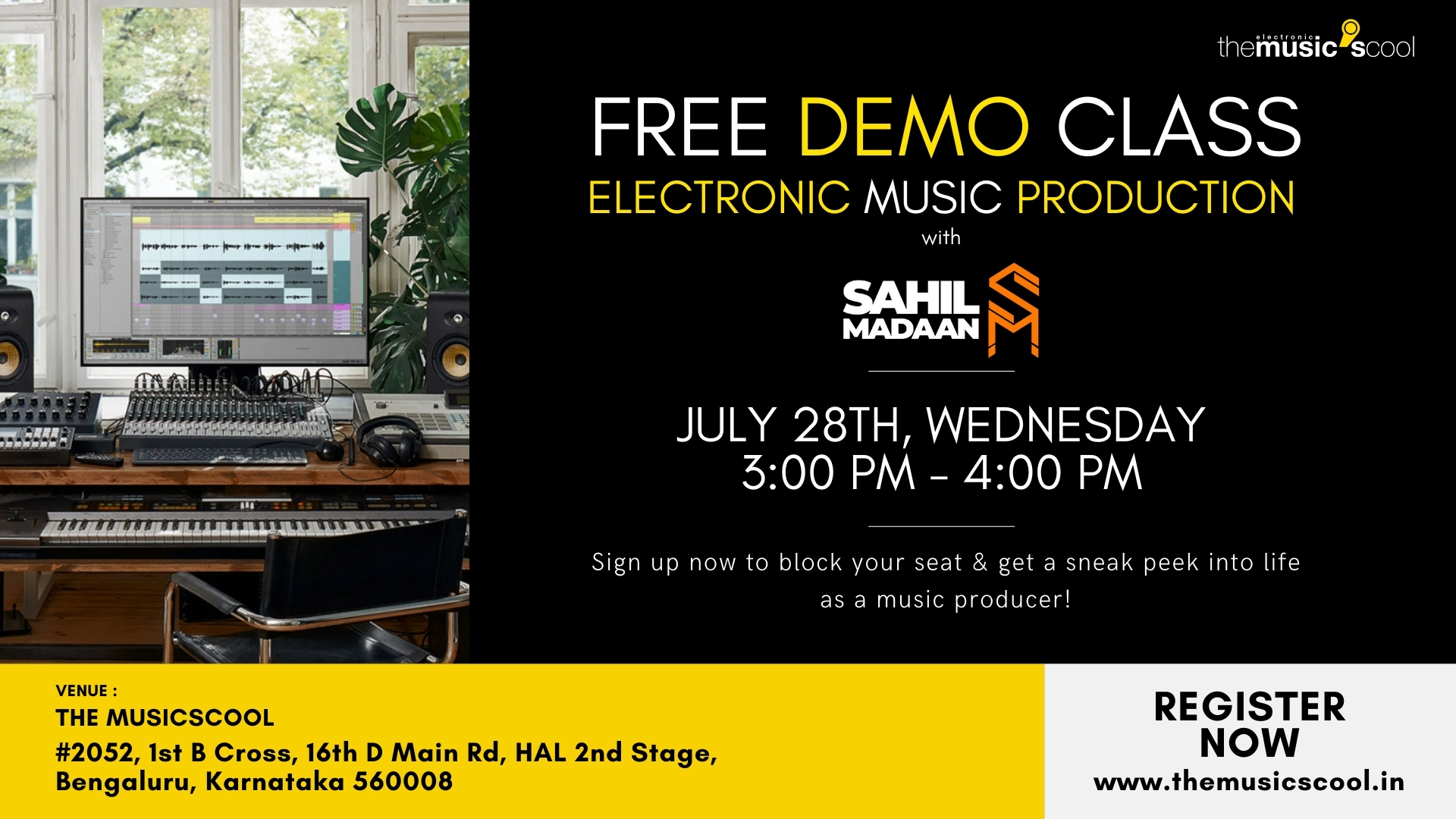 MUSIC PRODUCTION DEMO CLASS
