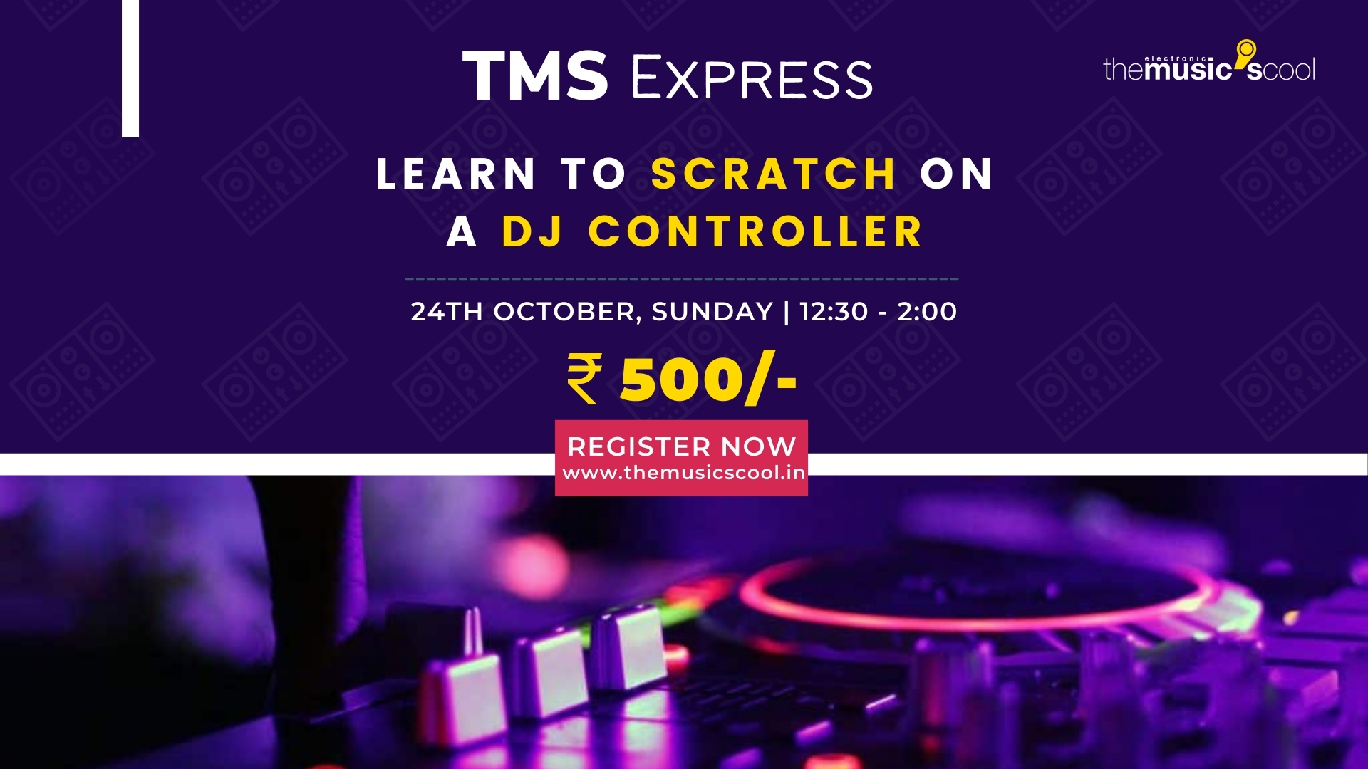 TMS Express - Into The Scratch With Yankur