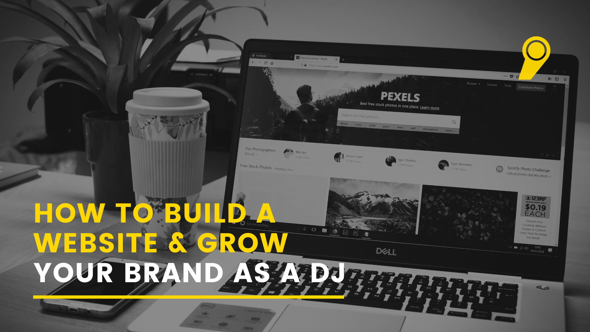 How to build a website and grow your brand as a dj
